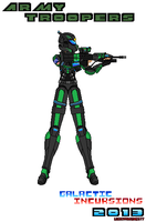 Character Cocnept Army Trooper 3 by Luckymarine577