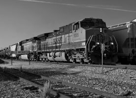 BNSF 1085 by SMT-Images