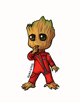 Baby Groot by FlukeOfFate