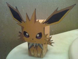 Jolteon Cubee Finished by rubenimus21