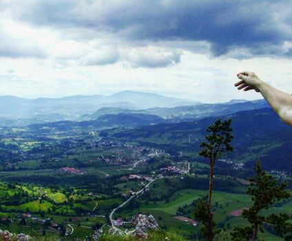 View from the Romanija montain by LadyFromNovel