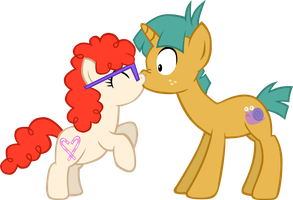 Twails Surprise Kiss by LudiculousPegasus