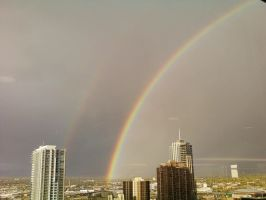 Double Rainbow by JrsyBoy
