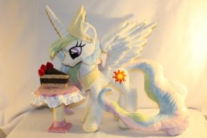 Jointed Celestia Plush by KarasuNezumi
