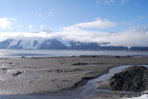 Alaska Beach 5 by prints-of-stock