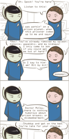 101 Ways to Make a Vulcan Laugh: 006 by TheVeggieSalad
