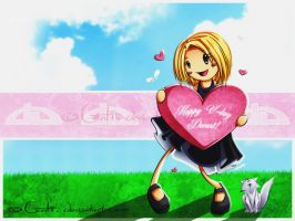 HAPPY V DAY DEVART WALLPAPER by Centi