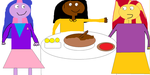 Myles' Thanksgiving with Twilight and Sunset by mylesterlucky7