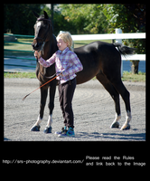 -Young Handler- :stock: by SRS-Photography