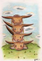 Eevee Stack by MusicMew