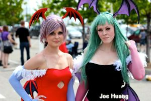 Darkstalkers Cosplay by viewtifu1