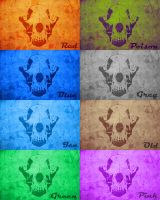 Backgrounds BFA Skull by NathalieNova