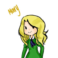 Mary by AlbinoAutumn