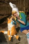 Fionna The Human:  Sharing Secrets by HarleyTheSirenxoxo