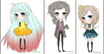 Mini Chibis Batch1 by Jinkuri