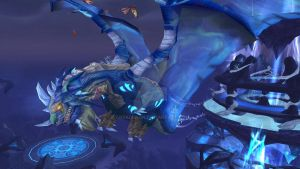 World of Warcraft: Malygos by aryadragn