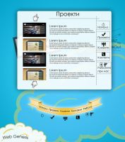Web Genesis 2 main page by coldenergie