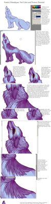 Fur color and texture Tutorial by silvermoonfox