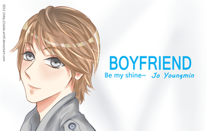 Youngmin-be my shine by Zaida-Airtif