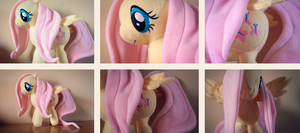Fluttershy Plush! by Pariahi