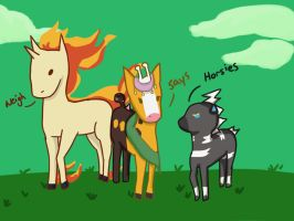 Horsies Neigh by Lunaoverthecow