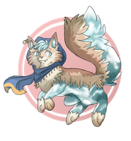 Coolest Waterdog design goes to by Fantastikitten