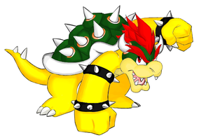 Bowser - GIMP by Creamy423