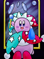 Mirror Kirby by AzureShinobi