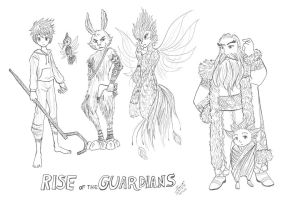 RISE OF THE GUARDIANS by Tangmo2356