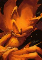 Crazy Super Sonic by Legeh