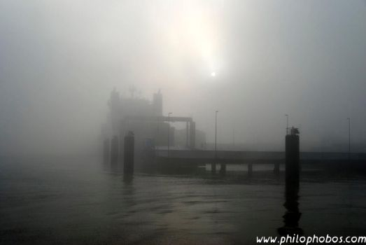 foggy Cuxhaven I by Philophobos