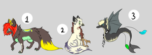 Adoptables by NoMatherWhat