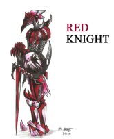 Red Soldier: Knight by RyouKazehara
