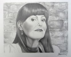 Hilary Devey by ginas-cakes