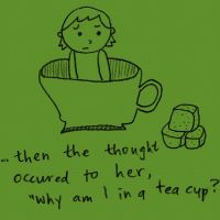 tea cup trouble by chunghwa