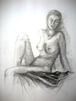 Study of Woman II by Ethlinn