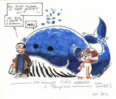 Moi et ma baleine. by Anorya