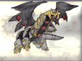 Giratina by mexicanjavafruit