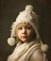 Girl with a white hat by scorpiophotography