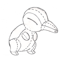 Cyndaquil Plushie Project by GreenSimon