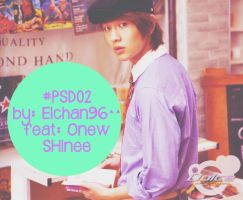 #PSD 02 feat: Onew SHINee by elchan96