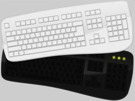 Full Keyboard PSD by junaid-saeed