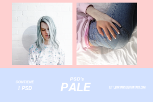 PSD 002 - PALE by LittleDr3ams