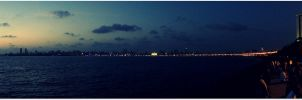Marine Drive, Mumbai by The--Dark--Knight