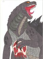 Attack on Titan Godzilla - Victory by Tyrannuss555