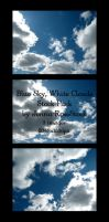 Blue Sky, White Clouds Pack by Jenna-RoseStock