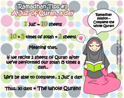 Ramadhan Tips 1 by littleMuslimah