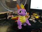 Spyro plush by Sabre471