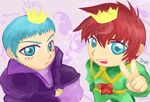King and Queen by icys
