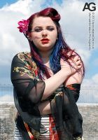 Megsy Vicious Pin-up Shoot 04 by memersonphotographic